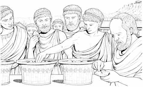 how women were treated in ancient athenian society Women in ancient athens had very little choices open to them if they were lucky, they could read a little, play an instrument, and owned slaves to do the daily household tasks.